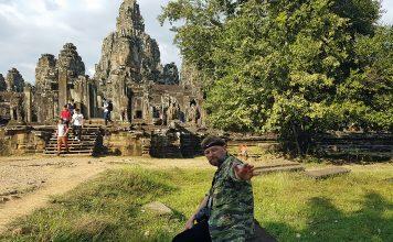 Piotr Ostaszewski w Kabodży